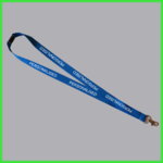 Blue Personalised Lanyard