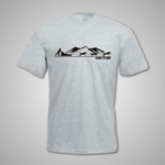 Born to Run Mountain T Shirt