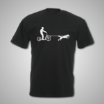 Male Scooter Joring T Shirt
