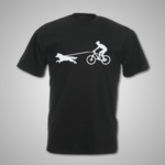 Male Bike Joring T Shirt