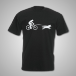 Female Bike Joring T Shirt