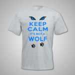 Keep Calm Wolf T Shirt