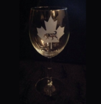 Canadian Wine Glass
