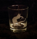 Husky Head Whiskey Glass