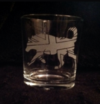 UK Husky Whiskey Glass
