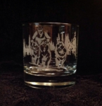 Husky Rig Team Whiskey Glass