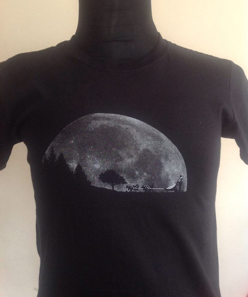 Sled Team Moon T Shirt